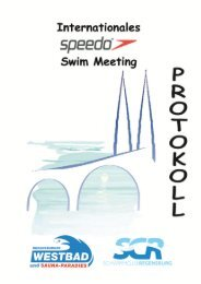 Int. Speedo Swim Meeting 2013