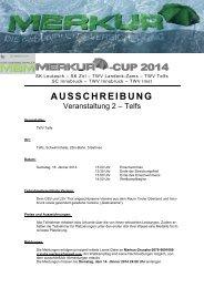 -CUP 201 44 AUSSCHREIBUNG