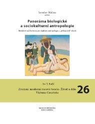 modulové učební texty pro studenty antropologie a - Přírodovědecká ...