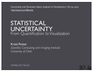 statistical uncertainty - Scientific Computing and Imaging Institute ...