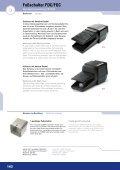 Fußschalter FDC - ELEKTRA Tailfingen - Seite 4