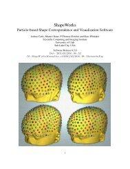ShapeWorks - Scientific Computing and Imaging Institute ...