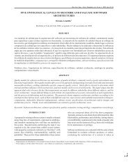 five ontological levels to describe and evaluate software ... - SciELO