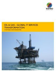OIL & GAS - GLOBAL IT SERVICES TRANSFORMATION