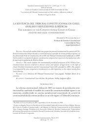 Analísis y reflexiones jurídicas - Centro de Estudios Constitucionales