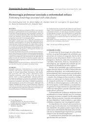 Hemorragia pulmonar asociada a enfermedad celíaca - SciELO