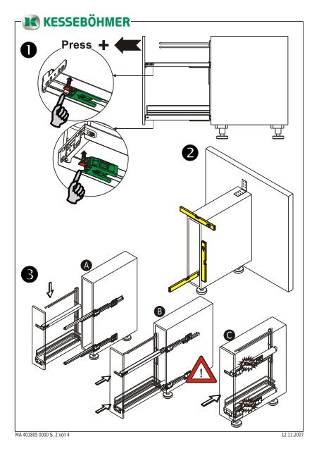 Handtuchhalterauszug Backblech- und Tablettauszug - Lmc