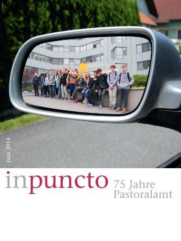 inpuncto: 75 Jahre Pastoralamt