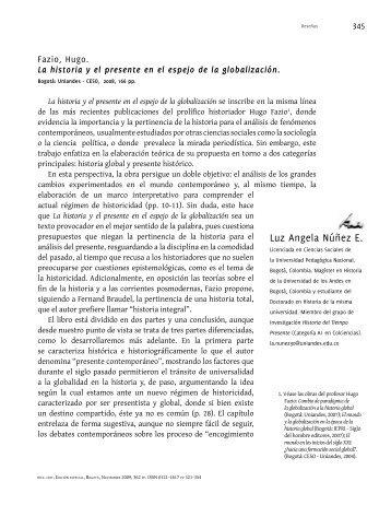 Guardar - Historia Crítica - Universidad de los Andes