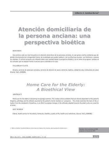 171 - 184 Atencion Domiciliaria.indd - SciELO Colombia