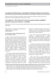 Caso clínico 01 - 2013. Mujer de 76 años con lesiones ... - SciELO