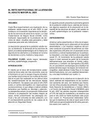 EL RETO INSTITUCIONAL DE LA ATENCIÓN AL ADULTO ... - SciELO