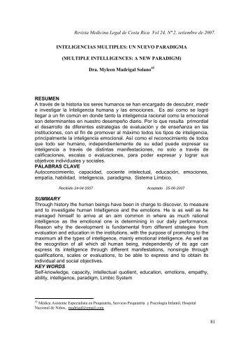 Revista Medicina Legal de Costa Rica Vol 24, Nª 2 ... - SciELO