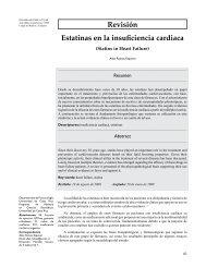 Revisión Estatinas en la insuficiencia cardiaca - SciELO