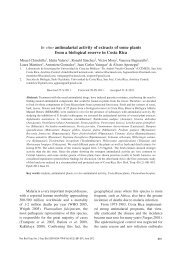 In vitro antimalarial activity of extracts of some plants from a ... - SciELO