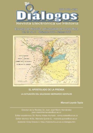 Escuela de Historia. Universidad de Costa Rica - SciELO