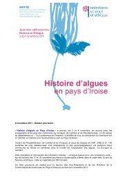 Histoire d'algues en Pays d'Iroise - Les entretiens