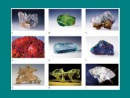 A mineral is
