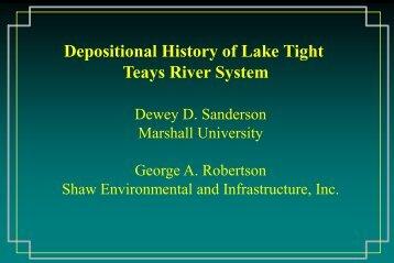 Teays River System - Marshall University