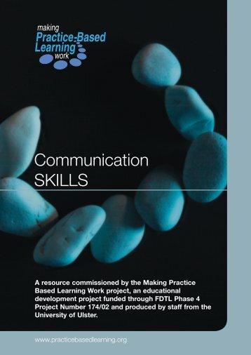 Communication SKILLS - Routledge
