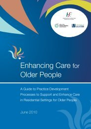 Enhancing Care for Older People - University of Ulster