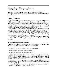 Geometria euclidea - Scienze Matematiche, Fisiche e Naturali