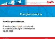 Definition Energiecontrolling - eneg Gesellschaft für wirtschaftlichen ...
