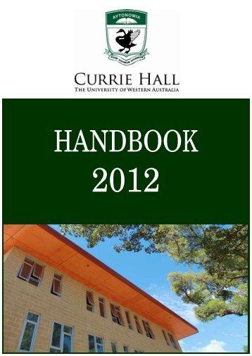values - The University of Western Australia