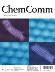 Chem. Commun., 36, 4288-4290 - University of Waterloo