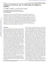 J. Mater. Chem., 20 - University of Waterloo