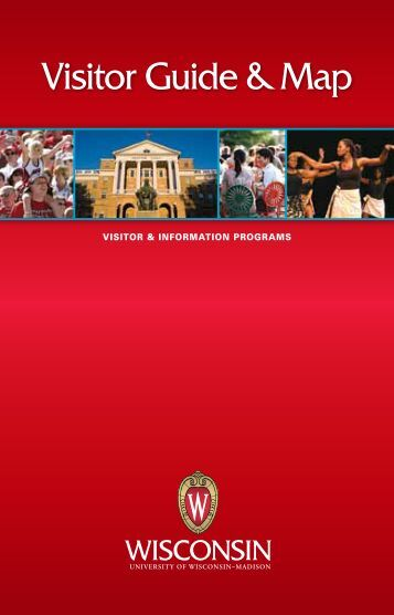 Visitor Guide - science.wisc.edu - University of Wisconsin-Madison