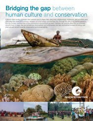 Bridging the gap between human culture and ... - Science-to-Action