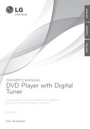 DVD Player with Digital Tuner