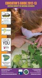 Educator's Guide 2012-13 - Buffalo Museum of Science