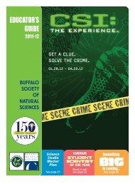 2011-12 Educator's Guide - Buffalo Museum of Science