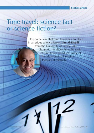 Time travel: science fact or science fiction? - Science in School