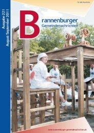August/September 2011 - Brannenburg