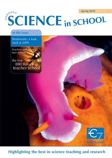 Download Issue 14 as PDF [5.4 MB] - Science in School