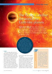The CoRoT satellite: the search for Earth-like ... - Science in School