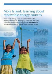 Moja Island: learning about renewable energy ... - Science in School