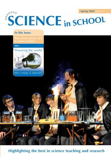 Highlighting the best in science teaching and ... - Science in School
