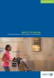 Annual Report 2007 3-24-08.pdf - Moffitt Cancer Center