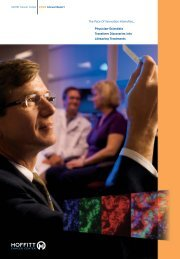Annual Report 2008 2-18-2009.pdf - Moffitt Cancer Center