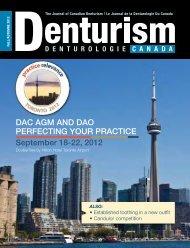 Fall - Denturist Association of Canada