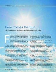 Here Comes the Sun - ScienceScribe.Net