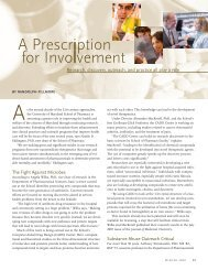 A Prescription for Involvement - ScienceScribe.Net