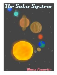 The Solar System - the Scientia Review