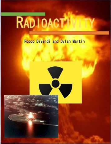 RADIOACTIVITY - the Scientia Review
