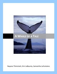 Whaling - the Scientia Review