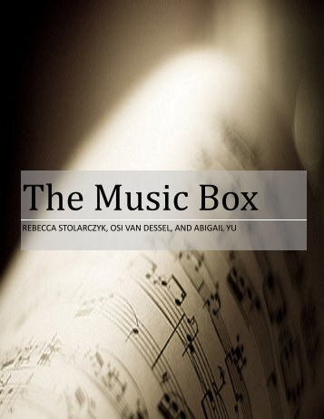 The Music Box - the Scientia Review